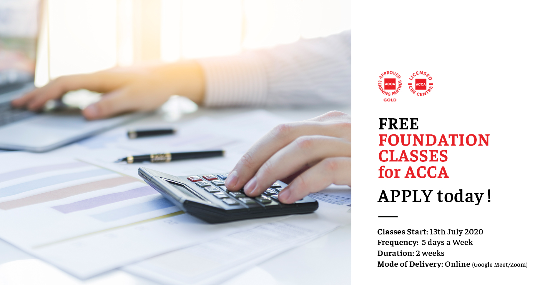 Foundation classes for ACCA